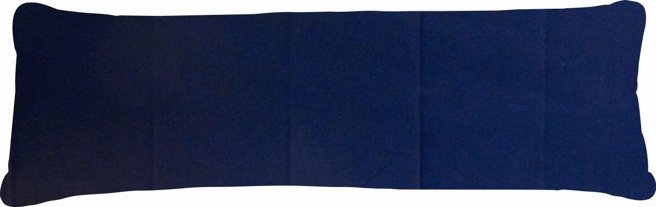 Bezug Stillkissen / Seitenschläferkissen Uni beige - 120x40 cm Welt der Kissen