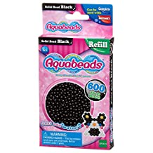 Aquabeads AB32658 Solid Beads Refill Pack, Black