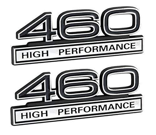 460 7.5 Liter High Performance Emblems Chrome & Black 4