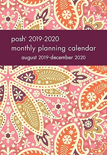 Posh: Boho Blush 2019-2020 Monthly Pocket Planning Calendar from Andrews McMeel Publishing
