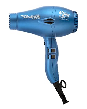 Parlux - Advance Light Ionic - Secador de pelo de cerámica y - mate azul: Amazon.es: Salud y cuidado personal