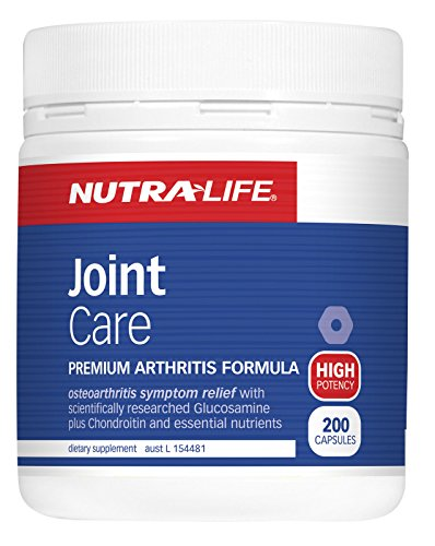 nutralife Joint Care premium arthritis formula 200 caps product of New Zeland