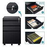 DEVAISE 3 Drawer Cabinet