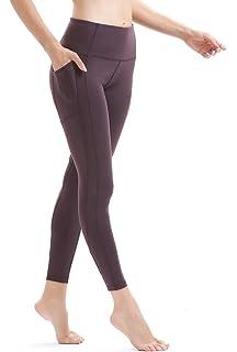 5792cdfef2 Persit Women's Premium Yoga Pants with Pockets, Non See-Through Tummy  Control 4 Way