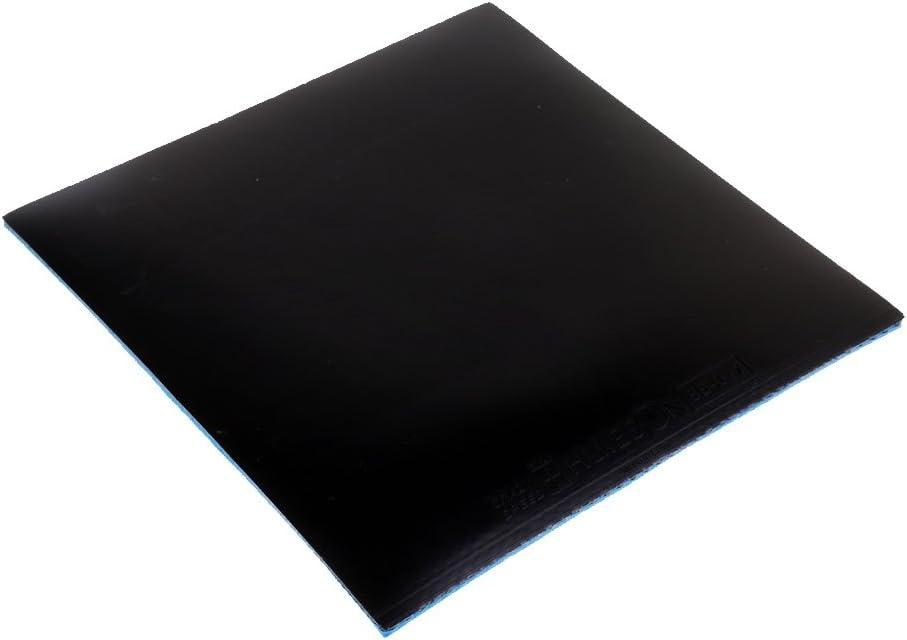 Gazechimp Goma de Raqueta de Tenis de Mesa Caucho de Palo de Ping Pong Viscosidad de Superficie Negro/Rojo