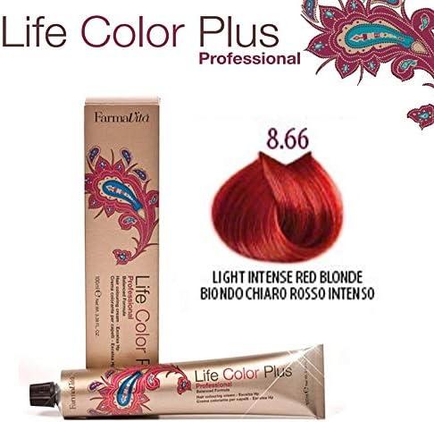Farmavita Life Color Plus Tinte 8.66 Rojo Intenso - 100 ml
