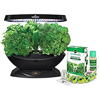 AeroGarden 7 LED Indoor Garden With Gourmet Herb Seed Kit