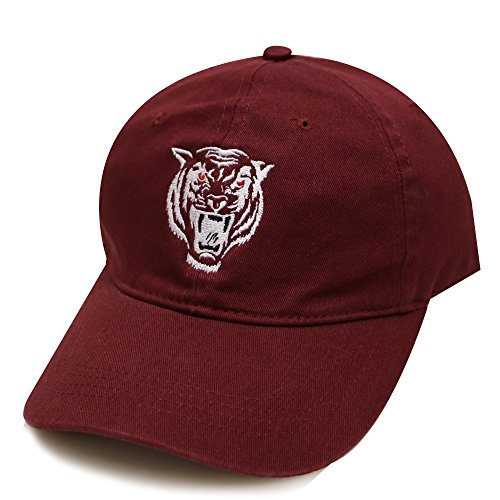 City Hunter C104 Tiger Shadow Cotton Baseball Caps - 5 Colors (Burgundy) Shadow Baseball Cap Hat