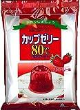 かんてんぱぱ カップゼリー ストロベリー味100gX2袋 約6人分x2袋