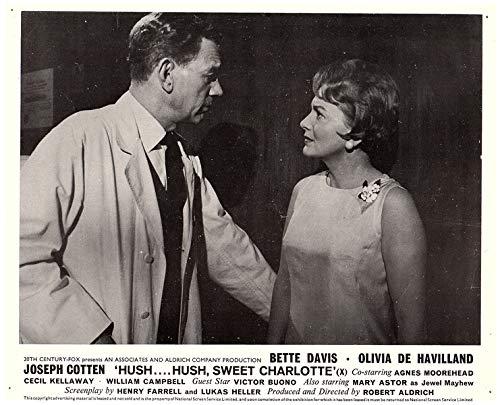 Hush Hush Sweet Charlotte Original Lobby Card Olivia De Havilland 1964