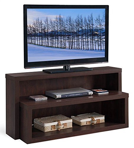 Leick 90350 Riley Holliday TV Console - Expandable Console Entertainment Center