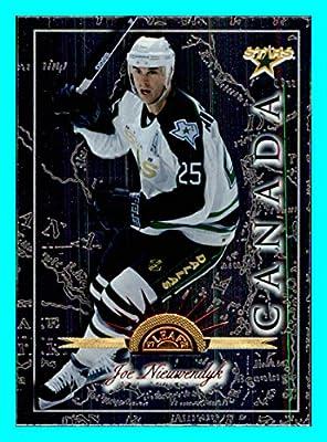 1997-98 Leaf International #108 Joe Nieuwendyk DALLAS STARS CANADA