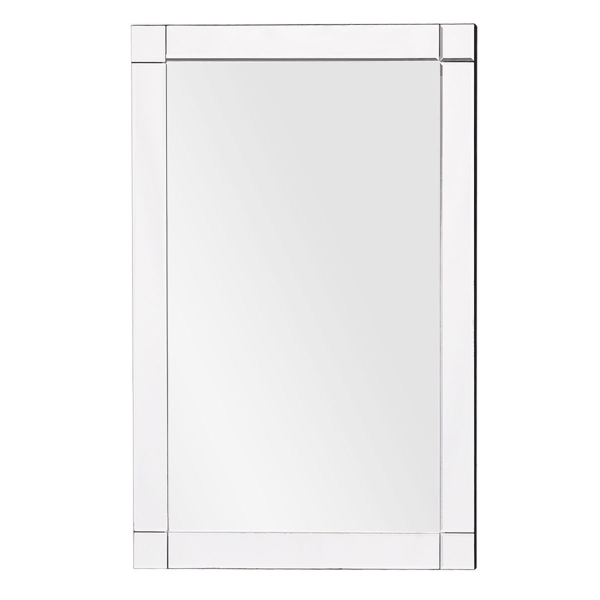 Wall Mirror Rectangle Vanity Bathroom Home Furniture Decor MDF Frame 36''