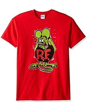 Men's Ratfink Distressed Vintaged Graphic T-Shirt
