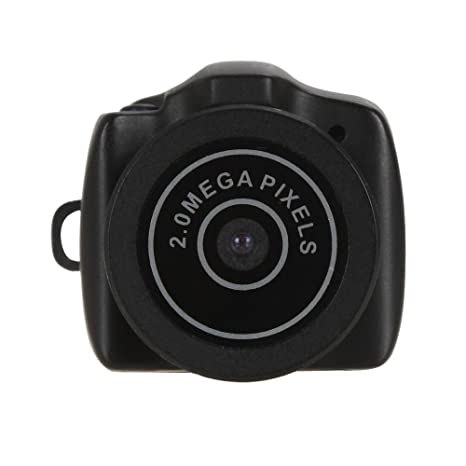 Mengshen Mini Mini cámara de vídeo HD 480P Mini Pocket DV DVR videocámaras portátiles Micro grabadora Digital USB PC Web CAM MS-Y2000: Amazon.es: Bricolaje ...