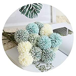 Artificial Dandelion Flower Silk Hyacinth Flower Wedding Decoration Party Hotel Decorations 48