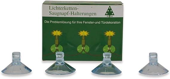 2x 36x Saughaken Haken Halterung Saugnapfhalter Saugnäpfe Saugner Lichterketten