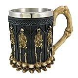 Ossuary Style Skeleton Tankard Coffee Mug Cup