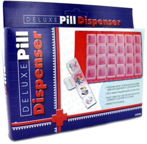 28-Compartment Pill Dispenser 36 pcs sku# 65217MA