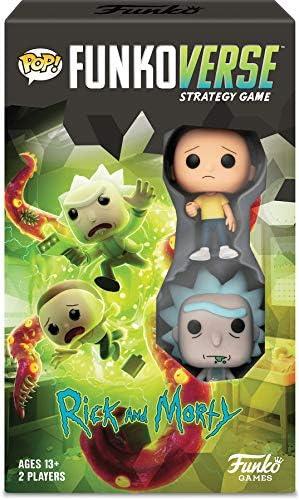 Funko Juego de Mesa Verse 2 Jugadores Rick y Morty: Amazon.es ...
