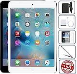 Apple iPad Mini 2 16GB,32GB,64GB,128GB - Wifi | Bundle Includes: Case, Tempered Glass, Stylus Pen, 1 Year Warranty (32GB, Space Gray) (Renewed)