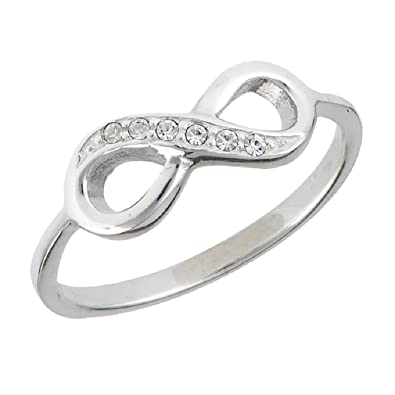 Amazon 925 Sterling Silver Infinity Everlasting Love Symbol