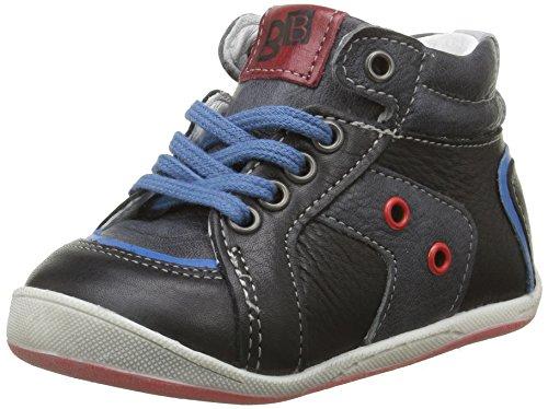 babybotte Fleuve - Zapatos de primeros pasos Bebé-Niñas Negro - Noir (016 Noir)