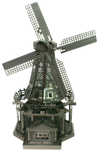 Metallic Nanopuzzle Netherlands Windmill Tmn-22