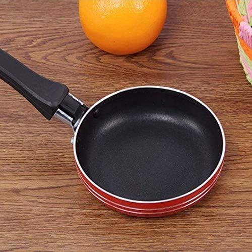 XXDTG Mini Mignon Omelette Petit déjeuner Mini Aluminium Casserole Pancake Egg Poêle Non Stick Pot Batterie de Cuisine Accessoires de Cuisine