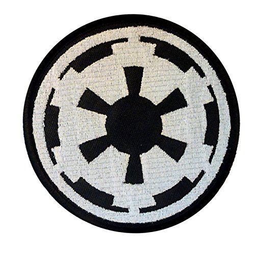 Star Wars Galactic Empire Insignia Imperial Logo Embroidered Sew/Iron on Patch by LEGEEON