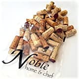 Recycled Wine Corks, All Natural, 100 Count or 50 Count, Excellent for Decorating, Arts and Crafts, and DIY Furniture (100)