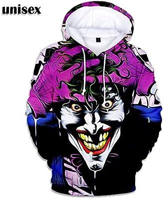 Unisex Joker Impreso Moda Casual Jogging Sudaderas Con Capucha ...