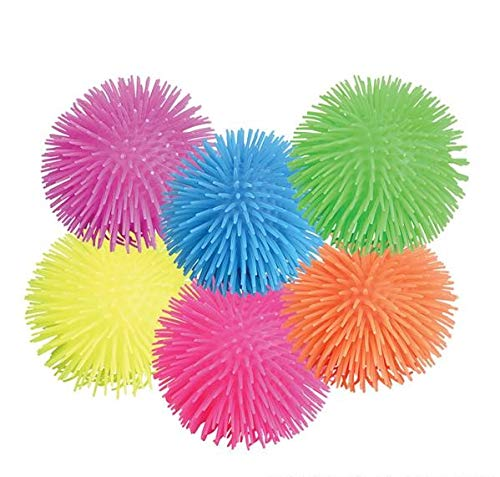 Rhode Island Novelty Puffer Balls | Assorted colors | Set of 12