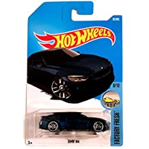 Hot Wheels 2017 BMW M4 Factory Fresh Blue 55/365, Long Card by Mattel