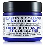 Carapex Natural Anti-aging Night Cream with Elastin & Collagen, for Dry to Combination