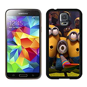 Despicable Me 09 Custom Design Cell Phone Cover Case for Galaxy S5 SV I9600 Black