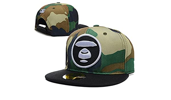 c799787c582 New Summer AAPE BY A BATHING APE Aape Bape Snapback adjustable cap hats 11
