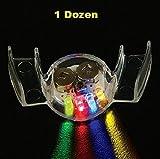 YMCtoys Light Up LED Flashing Mouthpiece (1 dozen)