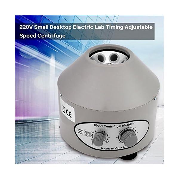 Greensen Centrifuga da Laboratorio, Macchina elettrica della centrifuga, Centrifuga da Tavolo Regolabile, centrifuga… 3 spesavip