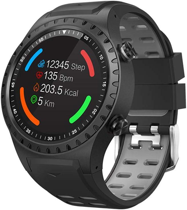 JINRU Tarjeta Deportiva Reloj Inteligente posicionamiento GPS al Aire Libre elevación del Tiempo brújula Impermeable