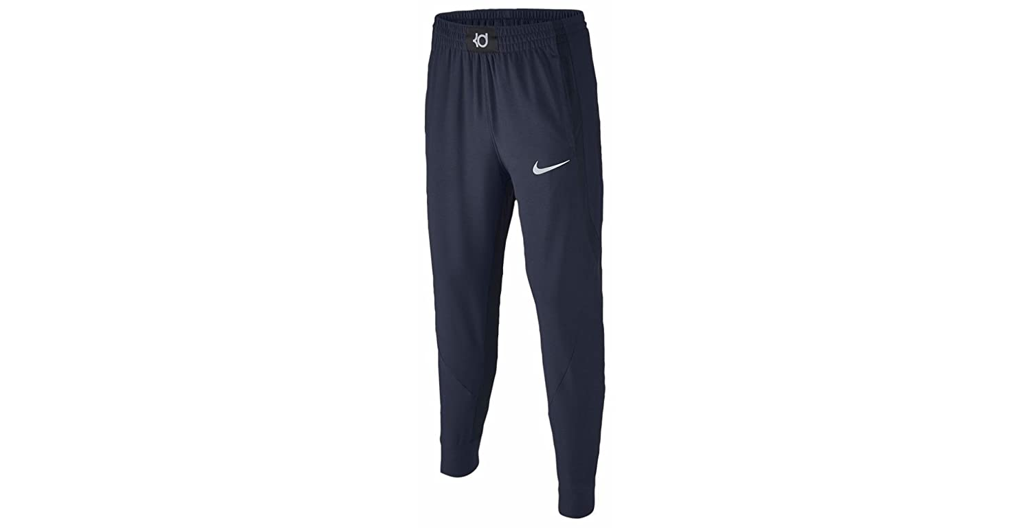 60f04c25c94a4 Amazon.com: Nike Boy`s KD Dri-Fit Flex Shield Basketball Pants (Small,  Obsidian Heather (473) / Reflective Silver.Obsidian Heather): Clothing