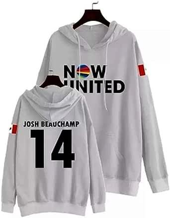 WAMNI Fashion 2020 Now United Conjunto de dos piezas con capucha y pantalones largos con la bandera de Alemania Sina Deinert 12 Jersey unisex Harajuku