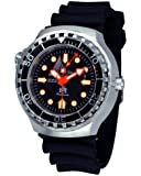 "German diver watch ""retrograde indicator 24 h."" Sapphire Glass-Crown on 10"