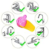 Inchant Baby Plastic Faucet Extender Lovely Animals Shape Bathroom Sink Faucet Extender for Children, Toddlers, Kids Hand Washing, Baby Faucet Extension, 1PC Tiger