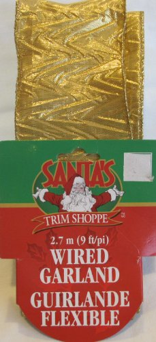 santas-trim-shoppe-wired-garland-ribbon-9-feet-long-x-2-1-2-wide-shimmering-gold-tone-swirly-vs-patt
