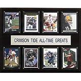 NCAA Football Alabama Crimson Tide All-Time Greats Plaque