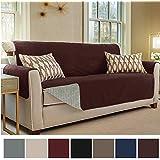 gorilla grip original slip resistant sofa slipcover protector suede like patent pending - Slipcover Sofa