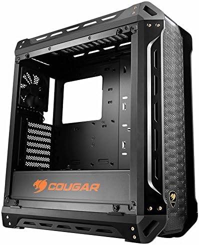 COUGAR Gaming Panzer Midi-Tower Negro - Caja de Ordenador (Midi-Tower, PC, Negro, ATX,CEB,Micro ATX,Mini-ITX, Juego, 16 cm): Amazon.es: Informática