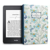 WALNEW Kindle Paperwhite Case Cover - Smart Protective Cover Slim Case for Kindle Paperwhite PU Leather Cover with Auto Wake/Sleep Function (C-Naturalbook)