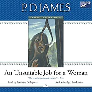 An Unsuitable Job for a Woman Audiobook
